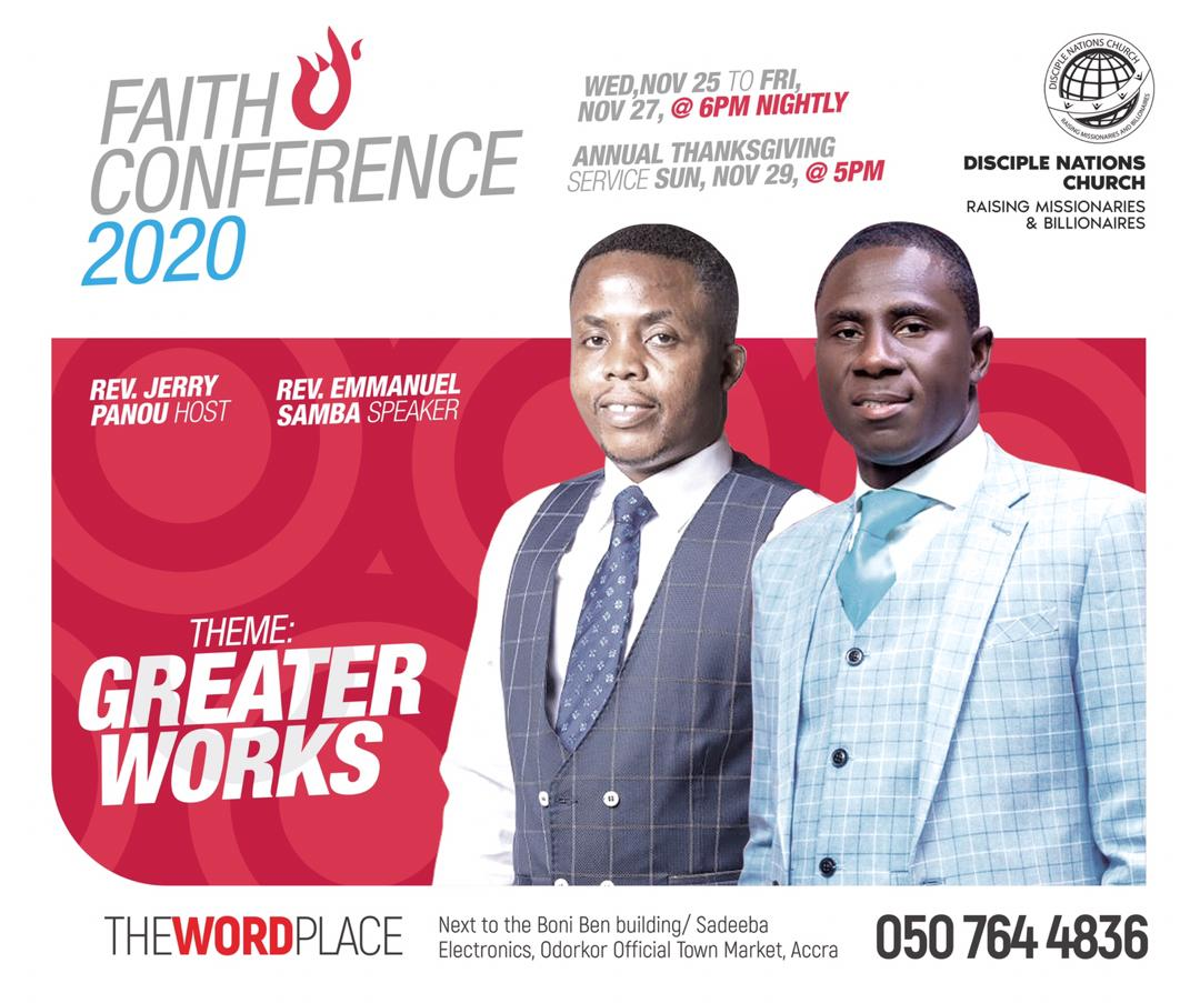 Faith Conference 2020 with Rev. Emmanuel Samba.